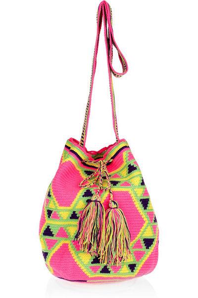 Wayuu Taya 印花水桶包 参考价格:175美元