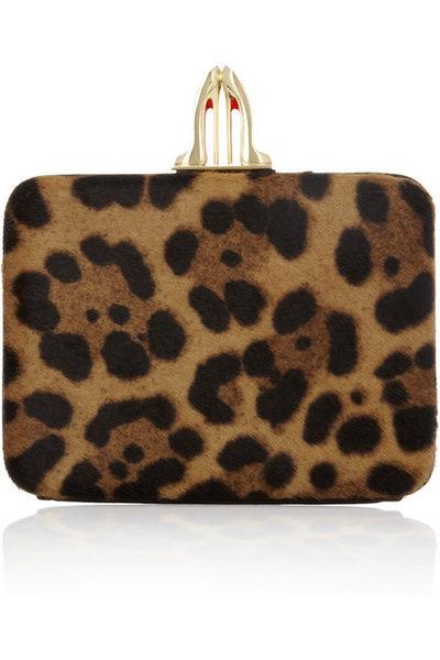 Christian Louboutin 豹纹手拿包 参考价格:1095美元