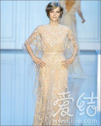 11秋冬高定的新娘礼服造型集锦