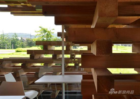 钢结构 层叠式屋顶 效果图