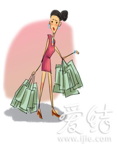口红包包衣服卡通图片