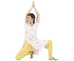 瘦腰腿:单腿平衡伸展式