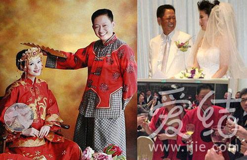 王志文陈坚红简朴中式婚宴