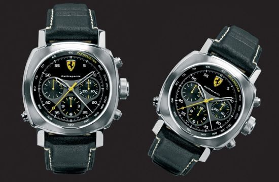 Ferrari Engineered by Officine Panerai Scuderia Rattrapante腕表