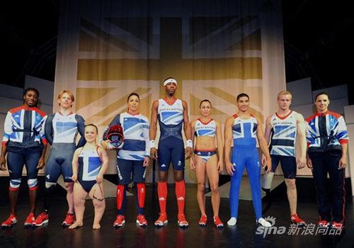 Stella McCartney设计英国队服