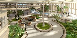 Yacht Island Designs'设计的浮岛