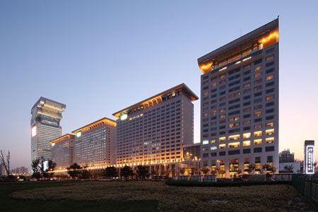 酒店地图 北京盘古七星酒店