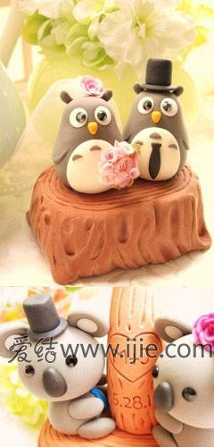 卡通动物蛋糕