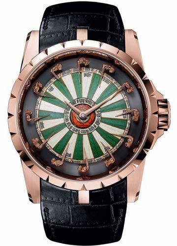 罗杰杜比Roger Dubuis Excalibur系列圆桌骑士腕表