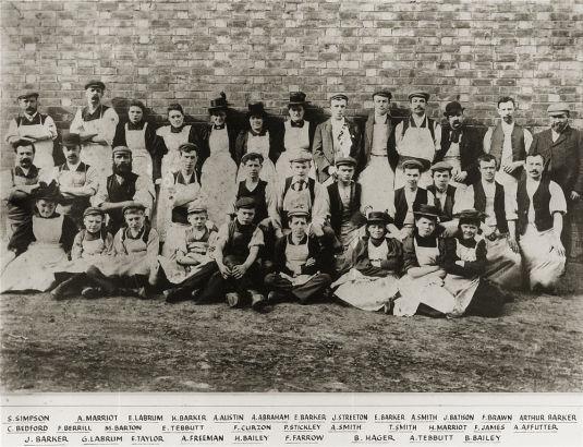 Barker手工鞋匠历史图片