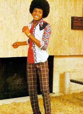 1973年15岁的迈克尔 杰克逊