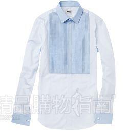 <b>浅蓝色拼接礼服衬衫Acne</b>