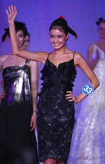 流行风尚 08新丝路世界模特大赛 正文    10月26日晚20点2008年新丝路