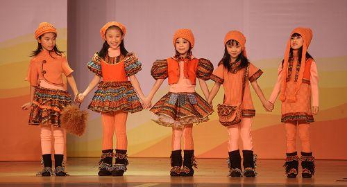 10中国国际时装周秋冬系类展示品牌-佛山童装