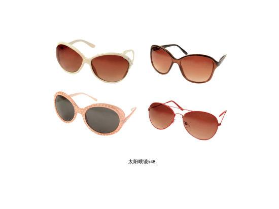 太阳眼镜,款式有金属幼框,复古大圆框及经典粗框,加上甜美圆点,可爱