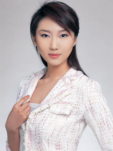 2008中国十大名模特 刘多