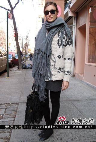 长靴短发搭配图片冬季