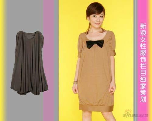 裙摆和袖摆的宽边降低裙子形成褶皱的几率