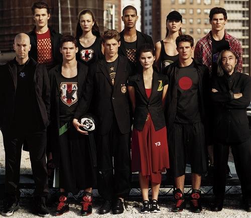 时尚模特队名字