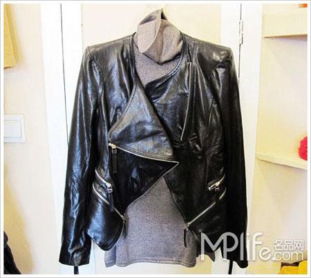 永恒经典的黑色皮衣-皮衣军装混搭尖端设计身边淘