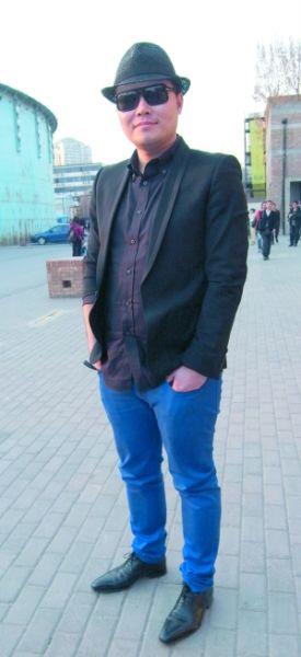 北京街头服装色彩搭配