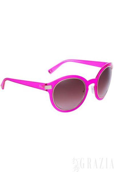 粉色Dior