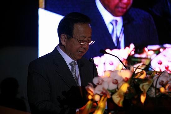 瑞士洛桑酒店管理学院驻中国代表张祖望先生致辞 摄影 岑征