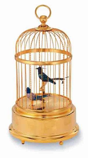 价值10万元鸟笼音乐盒