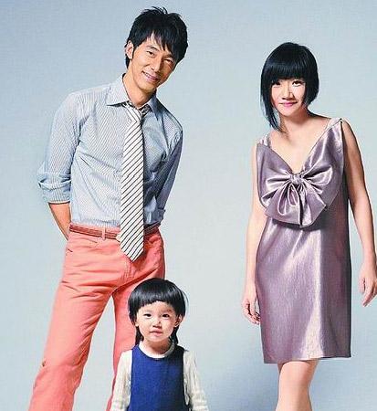 """陶子的女兒叫""""豆豆"""",兒子叫""""李小龍""""。"""