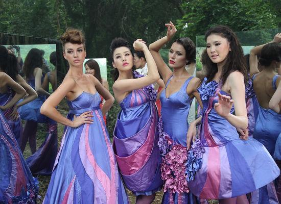 2012年亚洲超级模特大赛 华丽揭幕广西卫视时尚季
