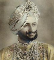 1928年Patiala的邦主Yadavindra Singh
