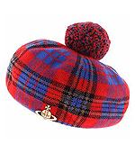 Vivian westwood格纹帽子日本价格:JPY8500.00元日本代购参考价:680元