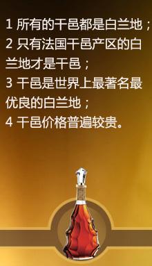 白兰地是把葡萄汁经发酵蒸馏所得的馏液,进行再加工制成的蒸馏酒;