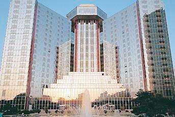 beijing great wall sheraton hotel  北京喜来登长城饭店由国际著名图片