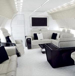 范思哲为顶级私人飞机完成内饰