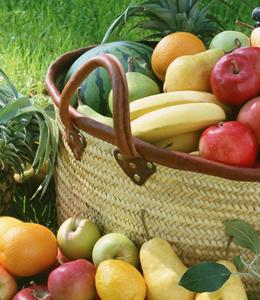 每天至少吃3个水果和3两蔬菜