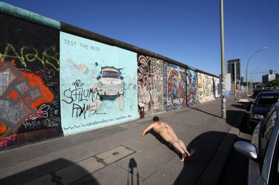 《景・观》柏林墙 作品5号