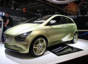 奔驰BlueZero E-Cell环保概念车