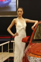 青年莲花展台5号模特