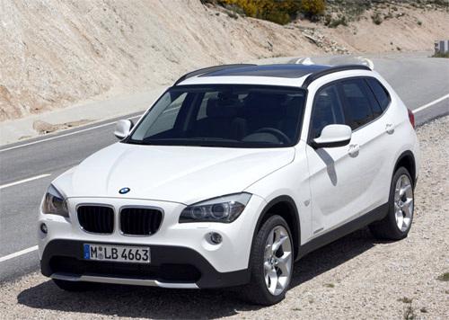 宝马发布了将于2009年秋季欧洲市场上市的宝马X1 SUV车型