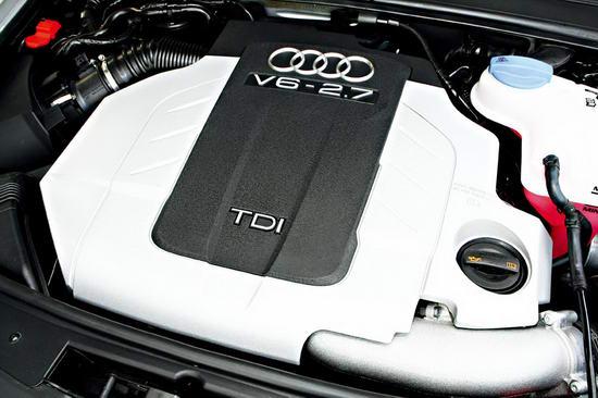 这款2.7TDI发动机已经超过了同排量汽油发动机的动力表现,而且更加环保节能