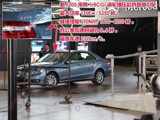 全新梅赛德斯-奔驰E200外观图片