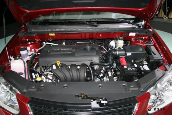吉利自主研发的GETCH-JLγ系列CVVT全铝发动机