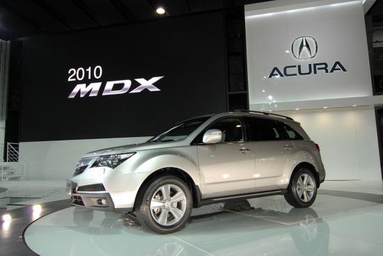 2010款讴歌MDX