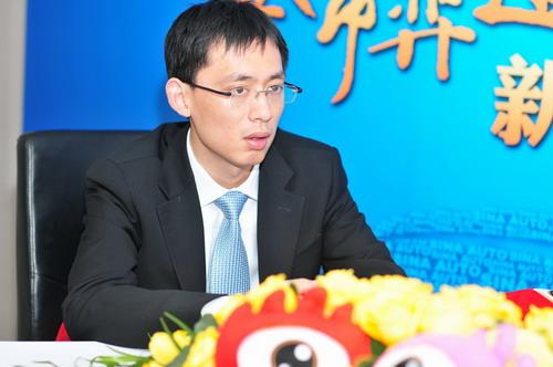 华晨金杯汽车有限公司销售公司品牌规划部部长徐超