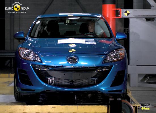 欧洲NCAP--全新马自达3碰撞测试报告