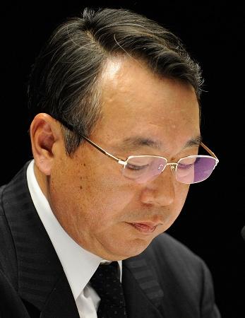 丰田副社长佐佐木真道歉。IC 图