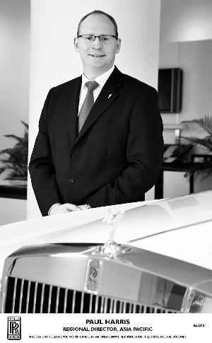 劳斯莱斯新任亚太区总裁保罗・哈里斯
