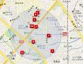 四元桥附近酒店较多,距离新国展10公里,交通方便。