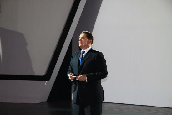 图为一汽大众奥迪销售事业部总经理唐迈现场致辞